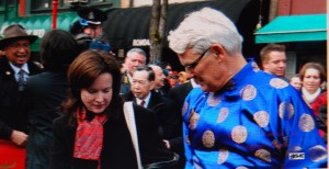 Gordon Campbell & Lara Dauphinee : photo credit Patrick Tam-Flunging photos