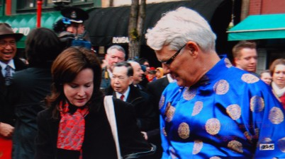 Gordon Campbell & Lara Dauphinee : photo credit Patrick Tam-Flunging photos