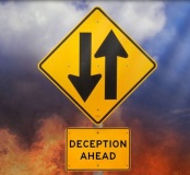 deceptionaheadsign